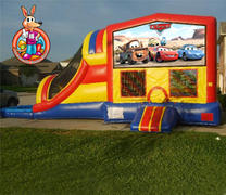 Disney Cars Module 5 in 1 Waterslide Bouncehouse Combo